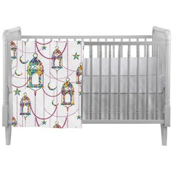 Moroccan Lanterns Crib Comforter / Quilt (Personalized)