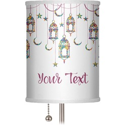 """Moroccan Lanterns 7"""" Drum Lamp Shade (Personalized)"""