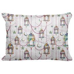 "Moroccan Lanterns Decorative Baby Pillowcase - 16""x12"" (Personalized)"
