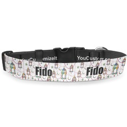 Moroccan Lanterns Deluxe Dog Collar (Personalized)