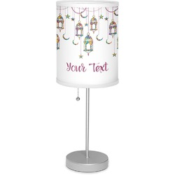 "Moroccan Lanterns 7"" Drum Lamp with Shade (Personalized)"