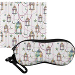 Moroccan Lanterns Eyeglass Case & Cloth