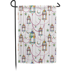 Moroccan Lanterns Garden Flags With Pole - Single or Double Sided (Personalized)