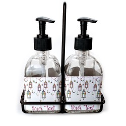 Moroccan Lanterns Soap & Lotion Dispenser Set (Glass) (Personalized)