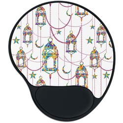 Moroccan Lanterns Mouse Pad with Wrist Support