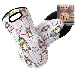 Moroccan Lanterns Neoprene Oven Mitt (Personalized)