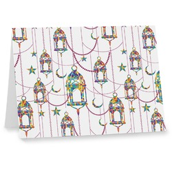 Moroccan Lanterns Notecards (Personalized)