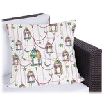 Moroccan Lanterns Outdoor Pillow (Personalized)