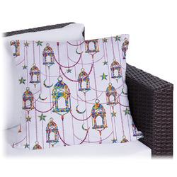 Hanging Lanterns Outdoor Pillow