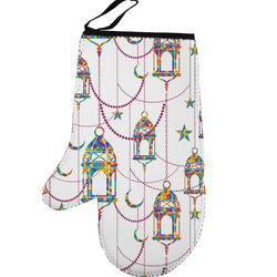 Moroccan Lanterns Left Oven Mitt (Personalized)