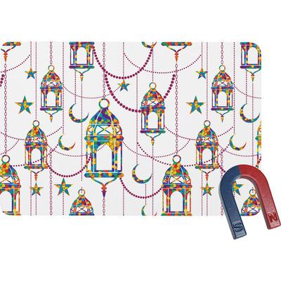 Hanging Lanterns Rectangular Fridge Magnet
