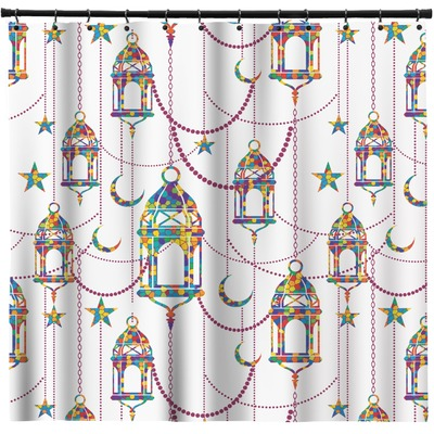 Hanging Lanterns Shower Curtain