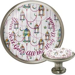 Moroccan Lanterns Cabinet Knob (Silver) (Personalized)