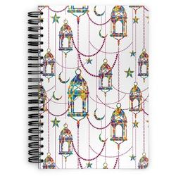 Moroccan Lanterns Spiral Bound Notebook (Personalized)