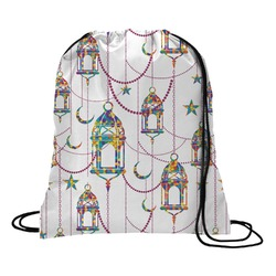 Moroccan Lanterns Drawstring Backpack (Personalized)