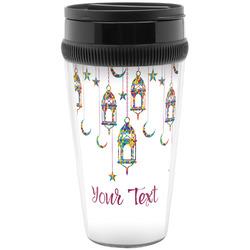 Moroccan Lanterns Travel Mug (Personalized)
