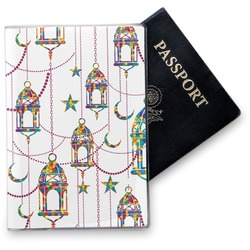 Moroccan Lanterns Vinyl Passport Holder (Personalized)