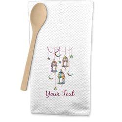 Moroccan Lanterns Waffle Weave Kitchen Towel (Personalized)