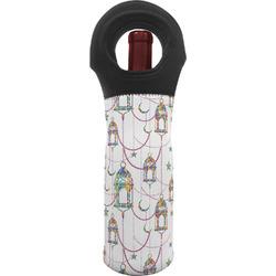 Moroccan Lanterns Wine Tote Bag (Personalized)