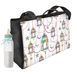 Moroccan Lanterns Diaper Bag (Personalized)