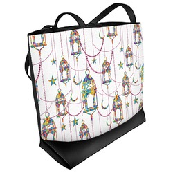 Moroccan Lanterns Beach Tote Bag (Personalized)