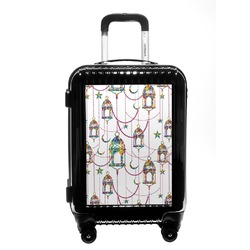 Moroccan Lanterns Carry On Hard Shell Suitcase (Personalized)