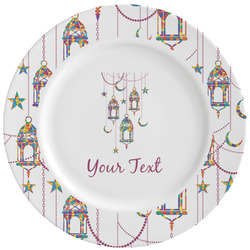 Moroccan Lanterns Ceramic Dinner Plates (Set of 4) (Personalized)