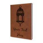 Moroccan Lanterns Leatherette Journal (Personalized)
