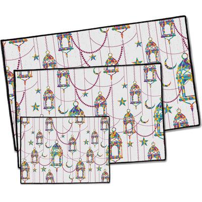 Hanging Lanterns Door Mat