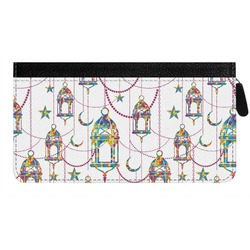 Moroccan Lanterns Genuine Leather Ladies Zippered Wallet (Personalized)