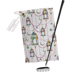 Moroccan Lanterns Golf Towel Gift Set (Personalized)