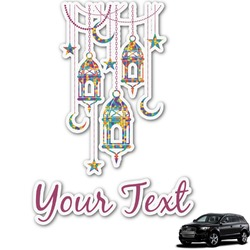 Moroccan Lanterns Graphic Car Decal (Personalized)