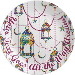 Moroccan Lanterns Melamine Plate (Personalized)
