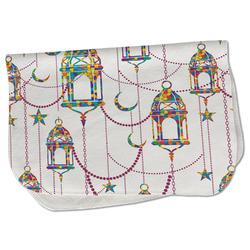 Moroccan Lanterns Burp Cloth - Fleece