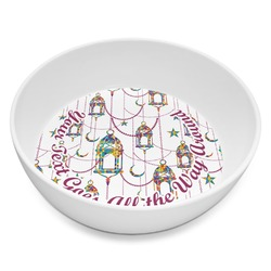 Moroccan Lanterns Melamine Bowl 8oz (Personalized)