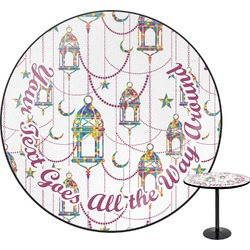 Moroccan Lanterns Round Table (Personalized)