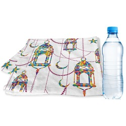 Moroccan Lanterns Sports & Fitness Towel (Personalized)