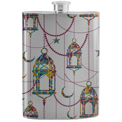 Moroccan Lanterns Stainless Steel Flask (Personalized)