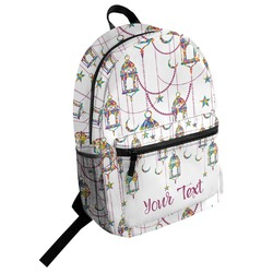 Moroccan Lanterns Student Backpack (Personalized)