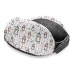 Moroccan Lanterns Travel Neck Pillow