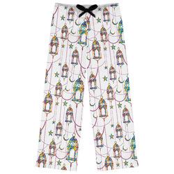 Moroccan Lanterns Womens Pajama Pants (Personalized)