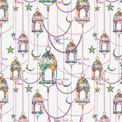 Moroccan Lanterns Wrapping Paper (Personalized)