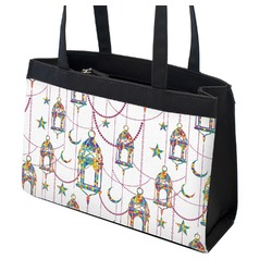 Moroccan Lanterns Zippered Everyday Tote (Personalized)