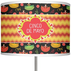 "Cinco De Mayo 13"" Drum Lamp Shade Polyester (Personalized)"