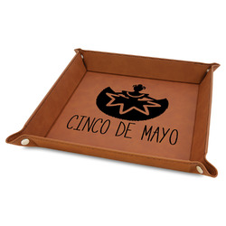 Cinco De Mayo Faux Leather Valet Tray