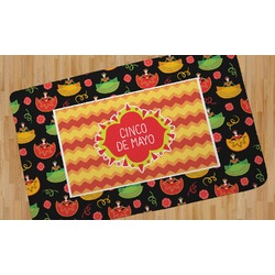 Cinco De Mayo Area Rug (Personalized)