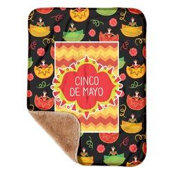 "Cinco De Mayo Sherpa Baby Blanket 30"" x 40"" (Personalized)"