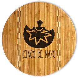 Cinco De Mayo Bamboo Cutting Board