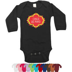 Cinco De Mayo Long Sleeves Bodysuit - 12 Colors (Personalized)