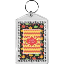 Cinco De Mayo Bling Keychain (Personalized)